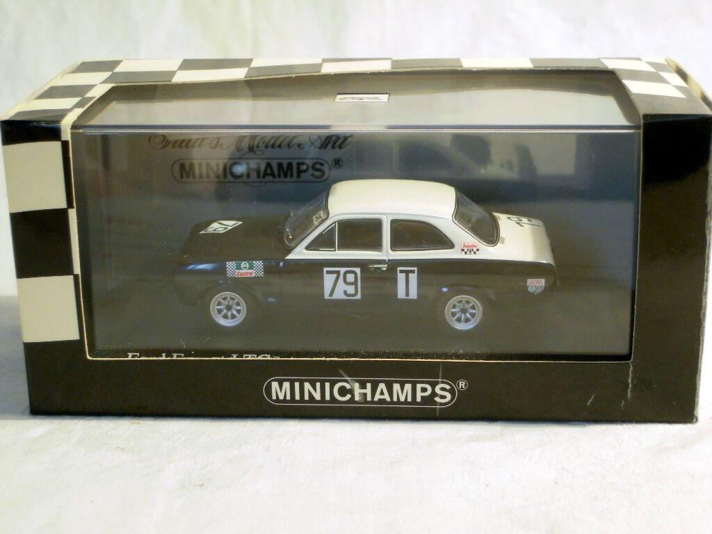 Minichamps 400688179: FORD ESCORT I TC, NURBURGRING 1968  79 Stommelen, Nuovo, Confezione Originale