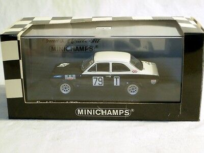 2019 Nieuwe Stijl Minichamps 400688179: Ford Escort I Tc, Nürburgring 1968 #79 Stommelen, Neu, Ovp Mooi En Charmant