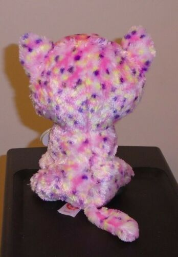 NEW Foil Design Ty Beanie Boos ~ SOPHIE the Cat NEW MWMT 6 Inch