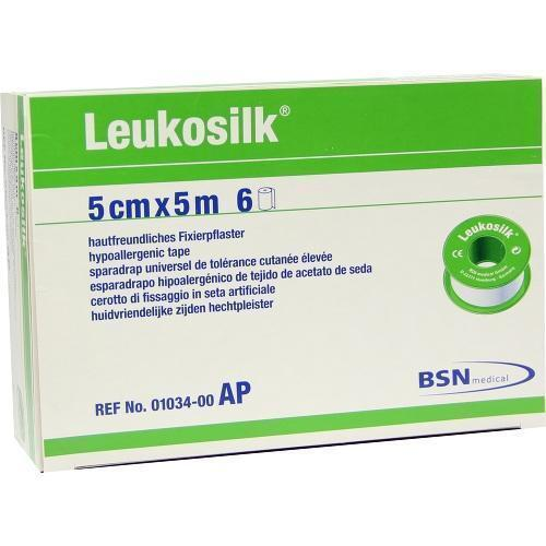 LEUKOSILK 5 cmx5 m 6 St