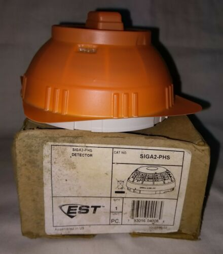 EDWARDS EST SIGA2-PHS INTELLIGENT 3D Photo Heat Smoke Detector Fire Alarm