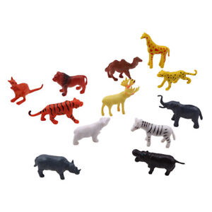 12pcs-Simulation-Wild-Animal-Model-Realistic-Reptile-Figures-Kids-Puzzle-Toys