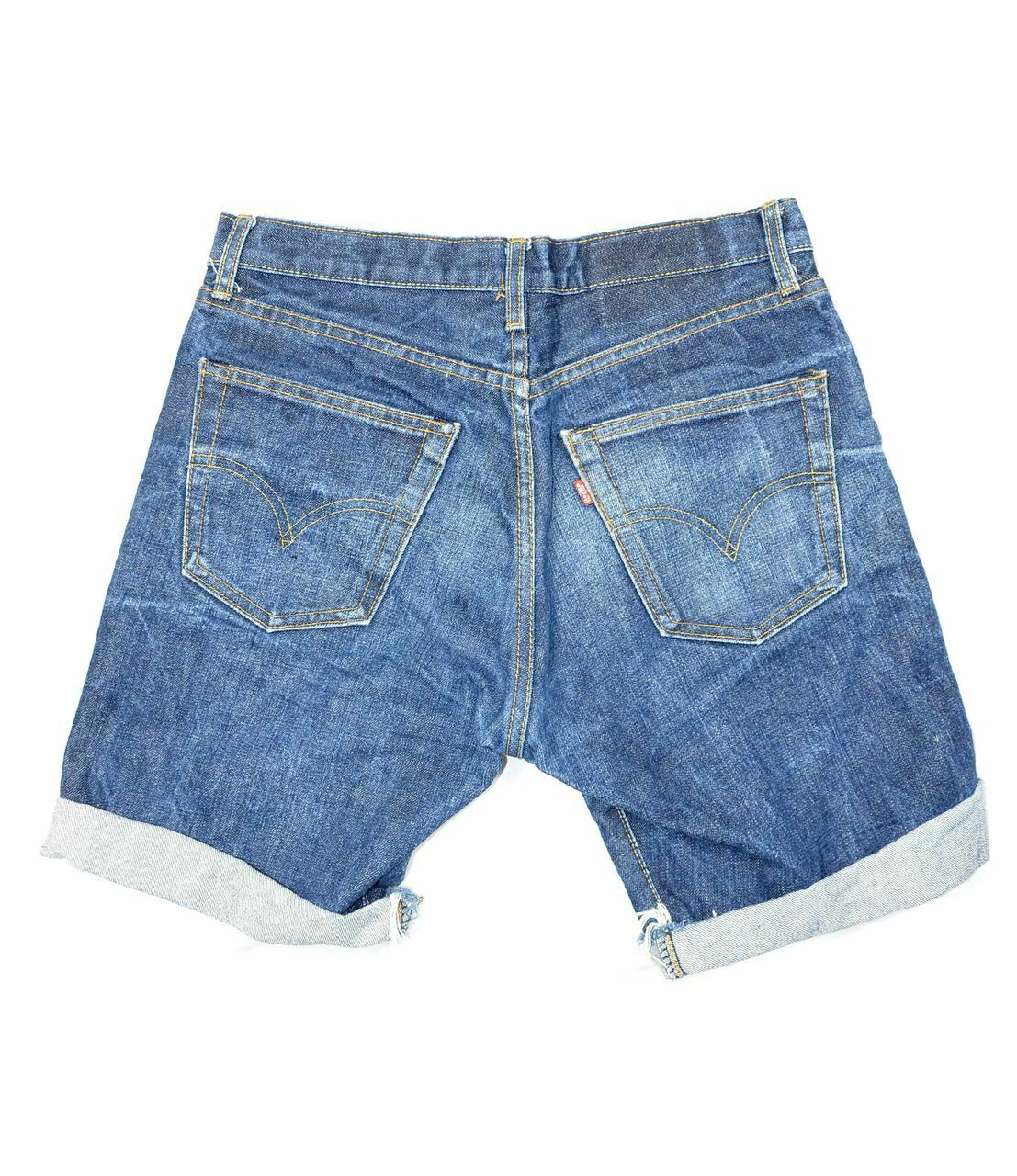 Made in USA Levis 501 Selvedge Shorts - image 2