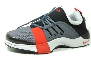 Nike-Boys-Shoes-Air-Presto-Gs-Gym-Running-Sneakers-Black-302781-061-Mesh-Vintage
