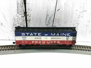 Vintage-Varney-Ho-Scale-Box-Car-state-Of-Maine