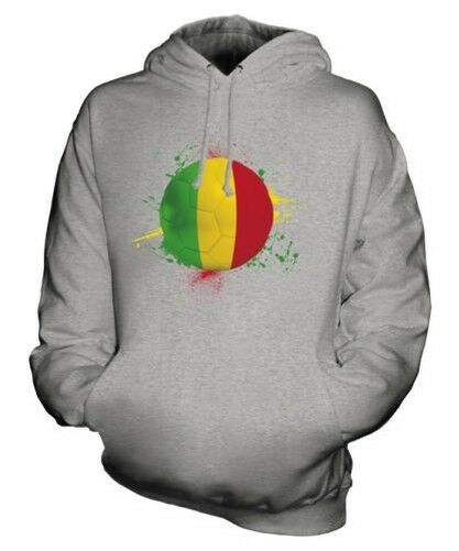 Mali Fußball Unisex Kapuzenpulli Top Geschenk Weltmeisterschaft Sport