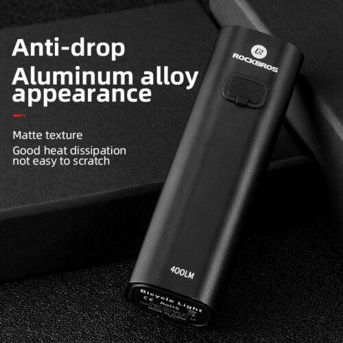 RockBros vélo lumière de levage Phares Multifonctionnel Support Puissant USB