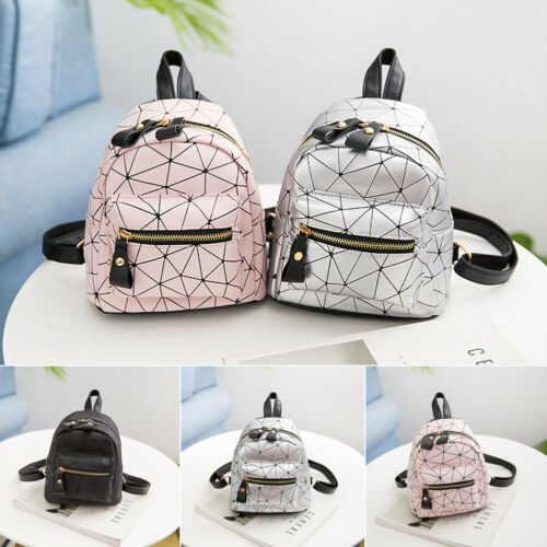 Girl Bag PU Leather Backpack Mini Travel School Backpack Purse for Women Popular