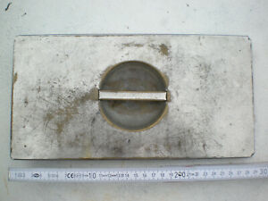 Details zu Wasserschiff Blech Deckel Topf für Küchenherd Hexe Vintage