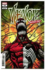 VENOM #16 MARVEL Comic 2019  VARIANT LIM CARNAGE-IZED Cover NM