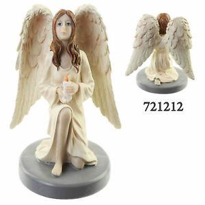 b40e02451 Image is loading Beautiful-Guardian-Angel -Figurine-Ornament-Wing-Figure-Candle-