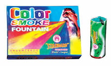 Standard Color Smoke Fountain Multicolored For Festival Occasions Party10Pcs Set