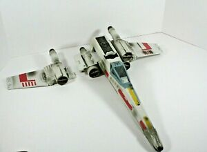 2002 Star Wars X-Wing Fighter Hasbro Incomplete for Parts or Repair