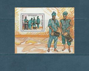 Niger-bloc-annee-europeenne-de-la-musique-1985-num-49