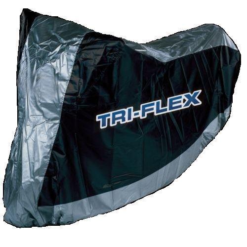 Triflex Light Waterproof Outdoor Rain Motorcycle Motorbike Cover New XL
