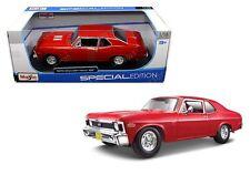 MAISTO 1:18 SPECIAL EDITION - 1970 CHEVROLET NOVA SS Diecast Model Car