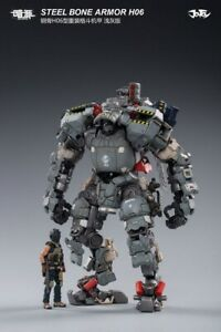 JOYTOY 1//25 Scale JT0043 Steel Bone Armor H06 Light Gray Action Figure Toys
