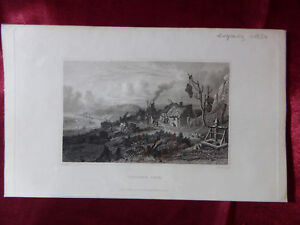 Antique-engraving-of-VENTNOR-COVE-ISLE-OF-WIGHT-c1830-Very-rare-art-print