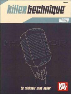 Suivi Des Vols Killer Technique Vocale Vocal Exercise Book Apprendre Comment Chanter MÊme Jour ExpÉdition-afficher Le Titre D'origine