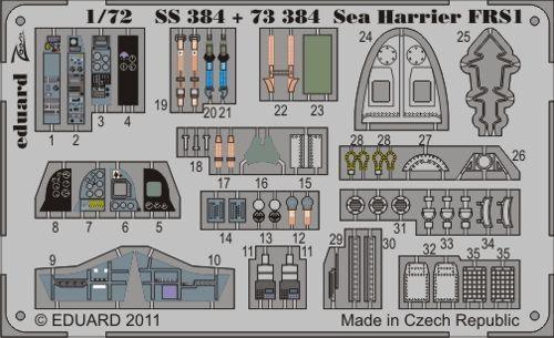 Eduard Zoom ss384 1//72 BAE sea PEAN FRS.1 Airfix