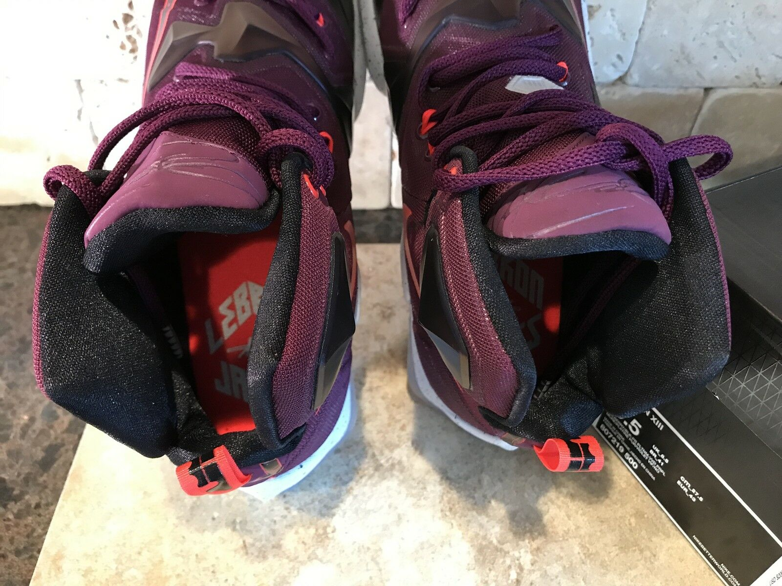 6e784c323c86f ... LEBRON XIII SIZE SIZE SIZE 9.5 MEN S SNEAKERS AUTHENTIC 2015 MULBERRY  WRITTEN IN THE STARS 7dbf7f ...