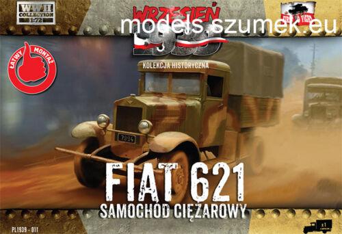 First to Fight 011 Polish Fiat 621L 1//72