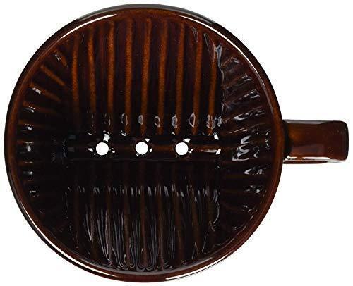Brown per 2-4 tazze JAPAN Kalita 102 Ceramic Coffee Dripper Hand Drip Tool