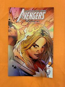 Avengers-24-034-VS-Cosmic-Ghost-Rider-034-Immortal-Variant-1st-Print-Marvel-2019