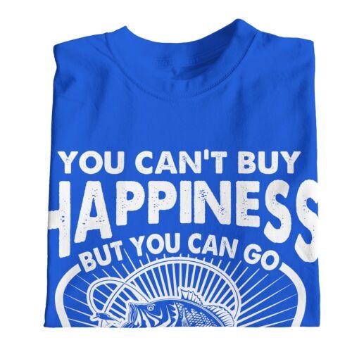 1Tee Bambine non puoi acquistare la felicità ma è possibile andare a pesca T-shirt
