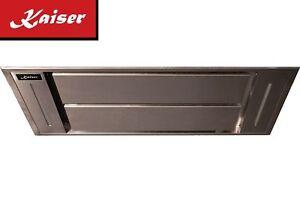 Kaiser luxus deckenhaube cm edelstahl m³ h dunstabzugshaube