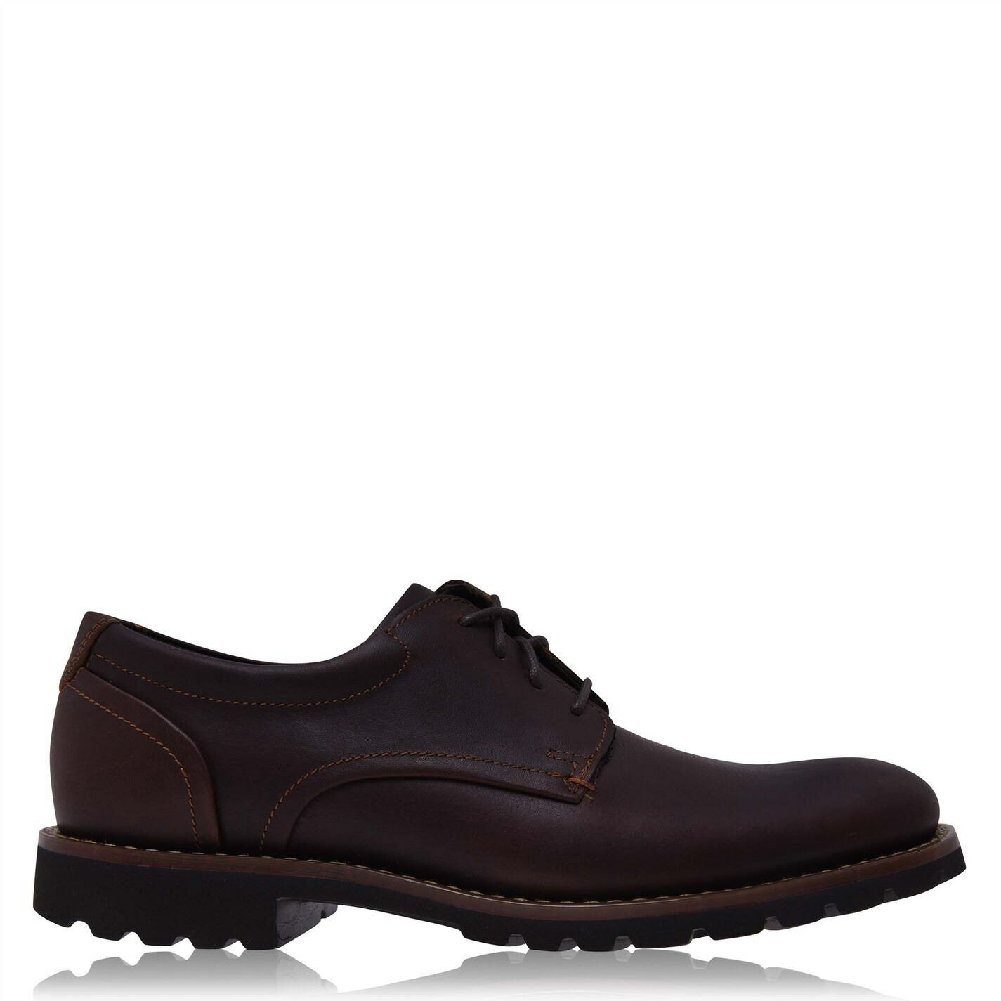 Rockport Colben Brogues Mens Gents Elegant Occasion Shoes Laces Fastened Padded
