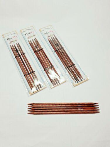 double pointed needles 20 cm KnitPro GINGER Dpn/'s 2.5-8 mm set of 5