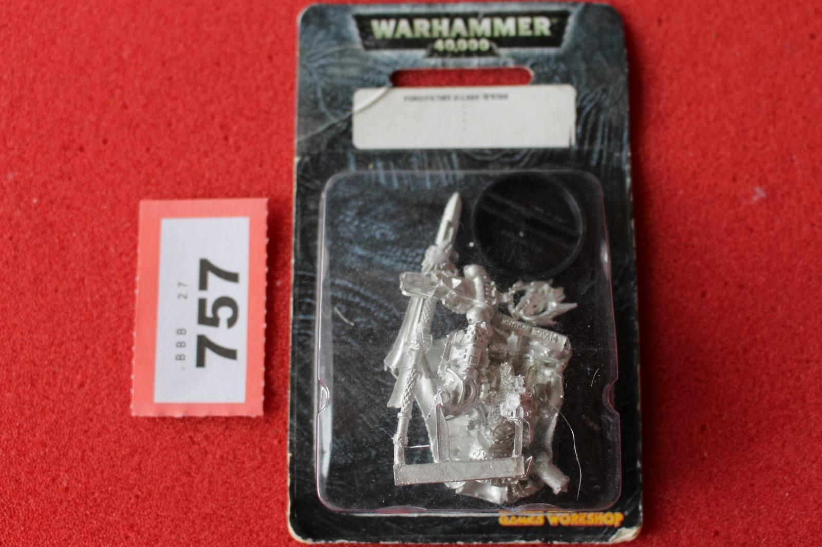Juegos taller Warhammer 40k salamandras Forge padre Vulkan Hestan Metal Nuevo GW