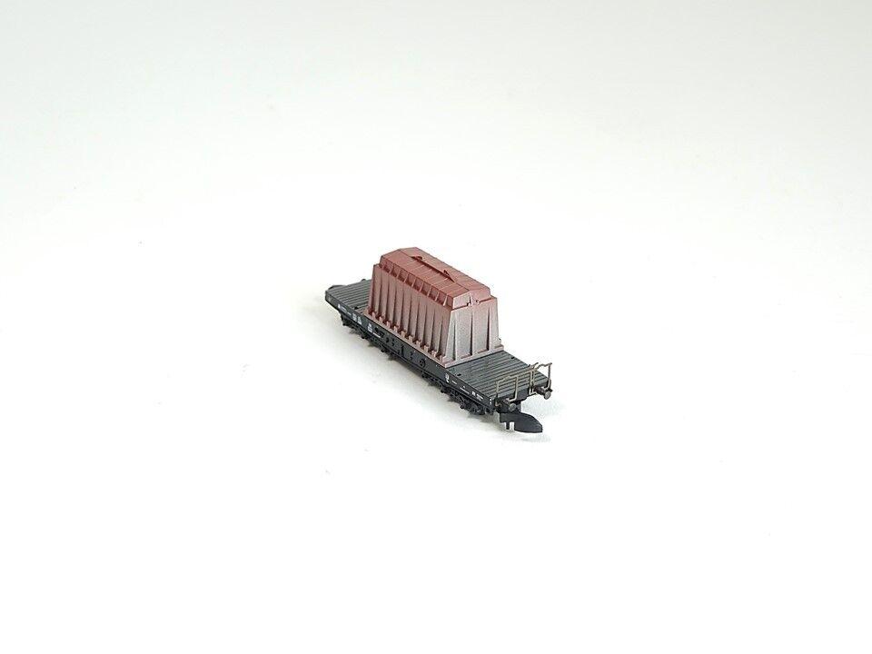 Märklin Z 82342, 82342, 82342, Schwerlasttransportwagen mit Ladegut Thermohaube, neu, OVP 0dc0f9