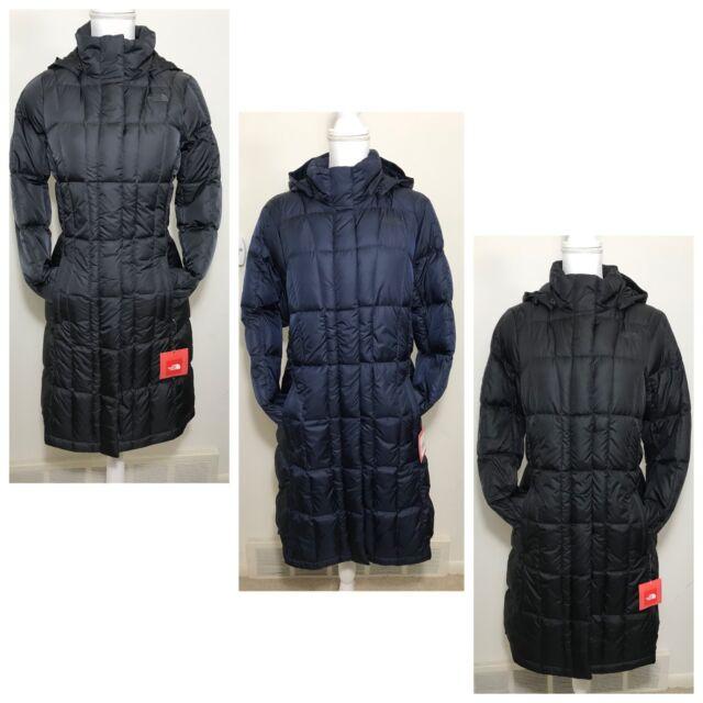 000c9d94c The North Face Women's Metropolis Parka Down Coat Grey Navy Black Sz XS S M  L XL