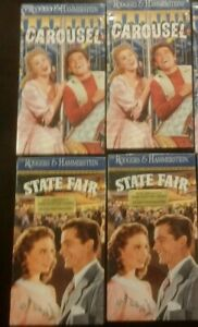 Lot of 4 Rodgers hammerstein collection State Fair Carousal
