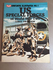 UNIFORM ILLUSTRATED No.1 - US SPECIAL FORCES OF WORLD WAR TWO