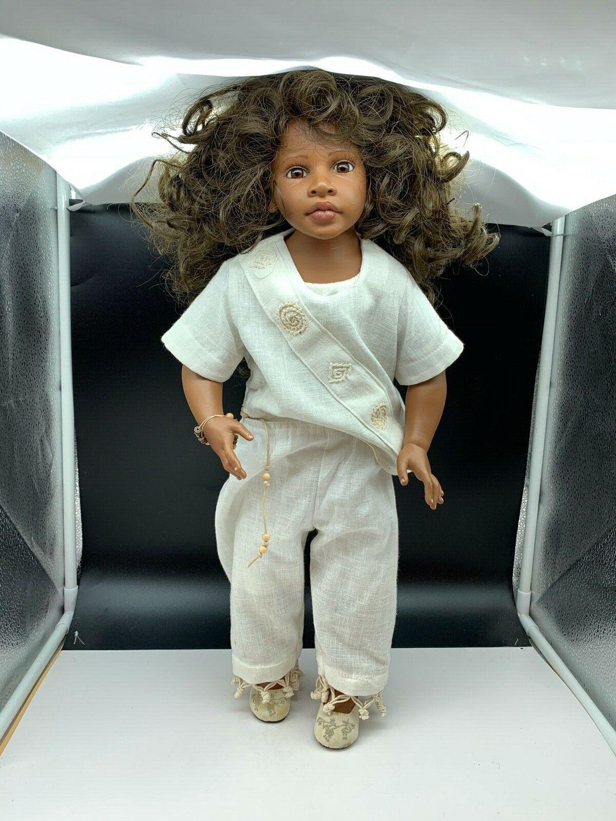 Elissa GlassGold Vinyl Doll Künstlerpuppe 52 cm. Top Zustand