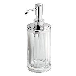 InterDesign-Alston-Acrilico-Dispenser-di-Sapone-O-Lozione-Pompa-Per-Cucina-Bagno-NUOVO
