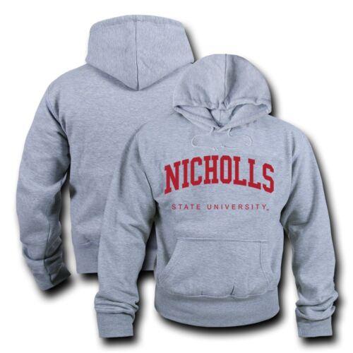 Polaire Jeu University Nicholls Gris Day État Ncaa Sweat Bruyère À Capuche shirt nRS70x7z