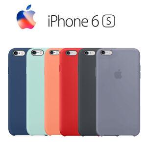 f67070f1863 La imagen se está cargando Funda-trasera-SILICONA-textura-suave-para-iphone -6-