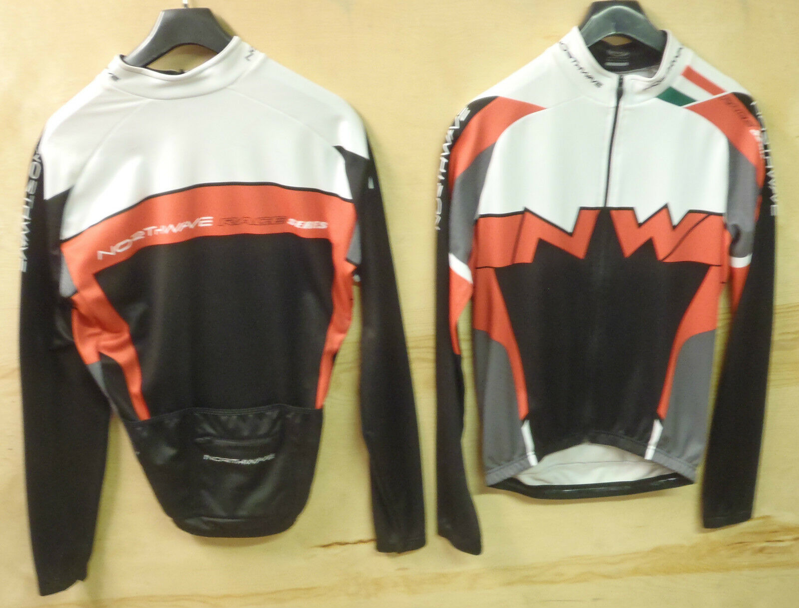 NORTHWAVE STEEL LONG SLEEVE CYCLING JERSEY LARGE UK NP&P FREE