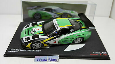 IXO ALTAYA 1//43 CORVETTE C5R FIA GT RAC TOURIST TROPHY 2007 SILVERSTONE KUMPEN
