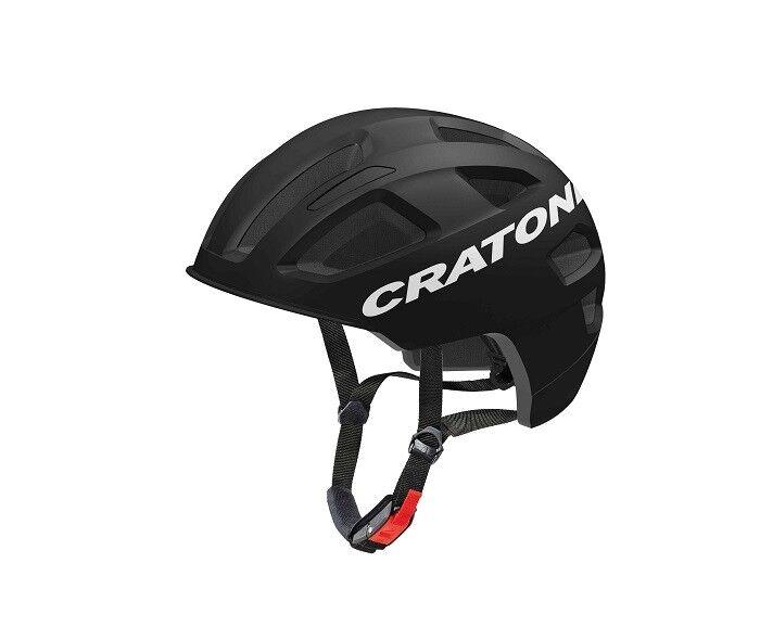 Cratoni-C-Pure-Color  negro Matt-tamaño  m-l (58 - 61cm)