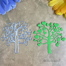 Love Tree Cutting Dies Scrapbooking Stencil For DIY Embossing Folder Die Cutter