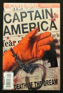 Captain-America-25-Civil-War-Epilogue-Death-of-Captain-America-NM