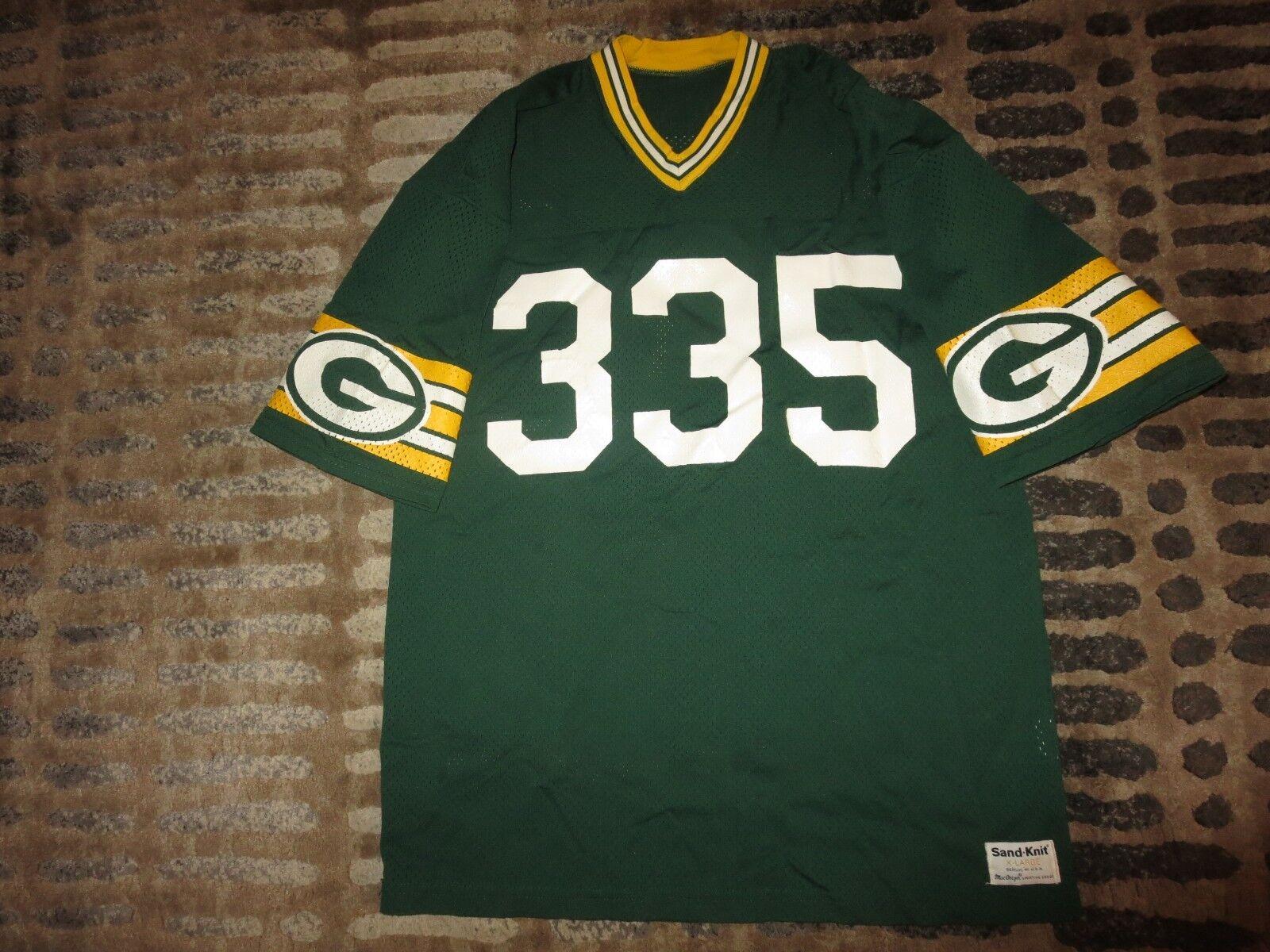 John Jefferson verde Bay Packers NFL Sand-Knit Camiseta XL