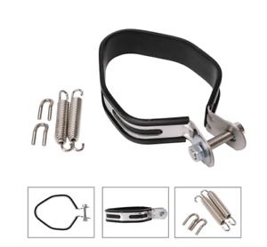 New Motorcycle Exhaust Muffler Silencer Hanger Hanging Clamp Strap Bracket