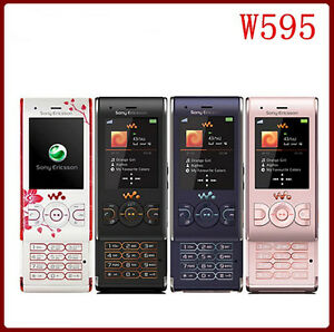 sony ericsson walkman w595 4 colors unlocked cellular phone free rh ebay com Sony Ericsson Walkman W580i Sony Ericsson Walkman Touch Screen