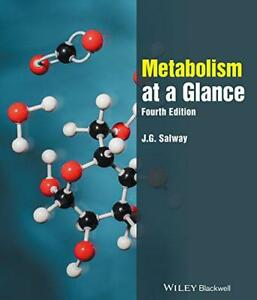 Metabolism at a Glance by Salway J G  Paperback Book  9780470674710  NEW - Leicester, United Kingdom - Metabolism at a Glance by Salway J G  Paperback Book  9780470674710  NEW - Leicester, United Kingdom